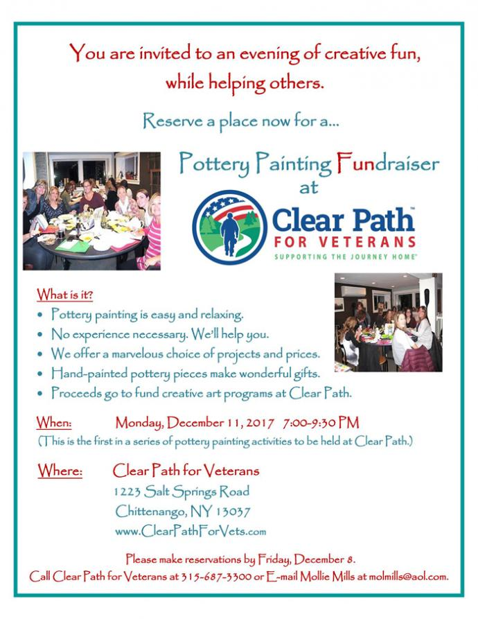 Pottery Painting | Clear Path For Veterans